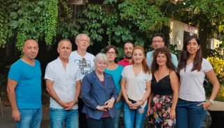 Gruppenbild des Vorstandes des IKFs